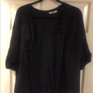 Black Shear Light Top (Daniel Rain) (Med)